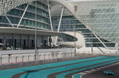 A visit to the F1 track in Abu Dhabi